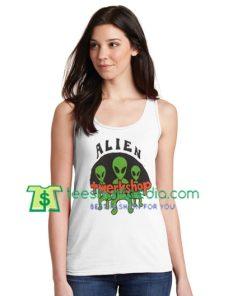 Alien Twerkshop Tanktop gift shirt unisex custom clothing Size S-3XL