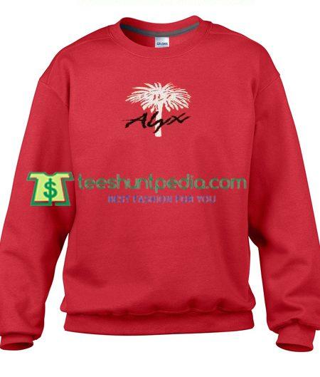 Alyx Palm Tree Sweatshirt Maker Cheap