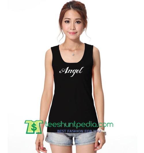 Angel Tanktop gift shirt unisex custom clothing Size S-3XL