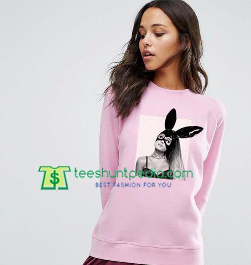 Ariana Grande's Dangerous Tour Light Pink Sweatshirt Maker Cheap