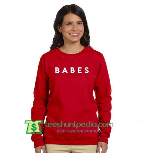 Babes Sweatshirt Maker Cheap