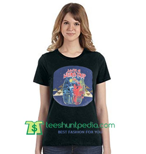Balenciaga Join A Weird Trip T Shirt gift tees adult unisex custom clothing Size S-3XL