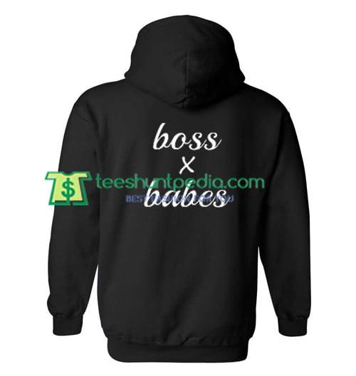Boss X Babes Hoodie Back Maker Cheap