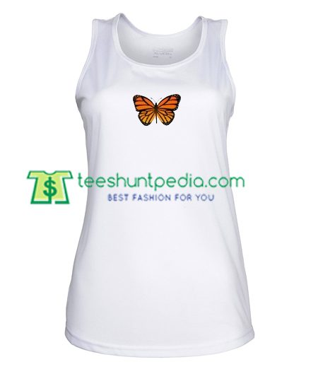 Butterfly Tank Top gift shirt unisex custom clothing Size S-3XL