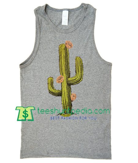 Cactus Tank Top gift shirt unisex custom clothing Size S-3XL
