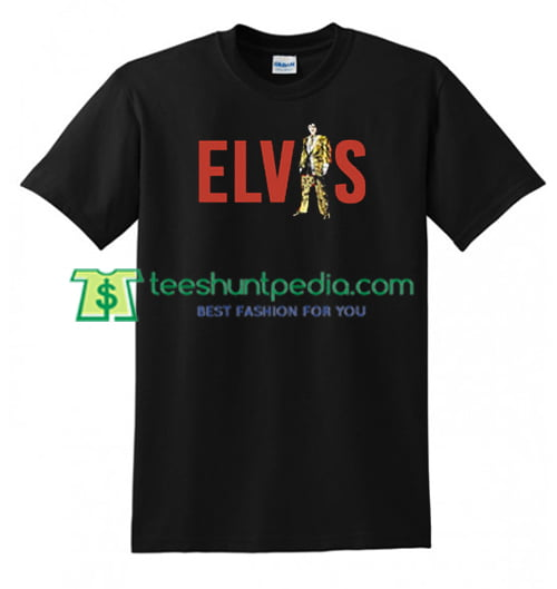 Elvis T Shirt gift tees adult unisex custom clothing Size S-3XL