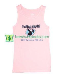 Feeling Playful Tank Top gift shirt unisex custom clothing Size S-3XL