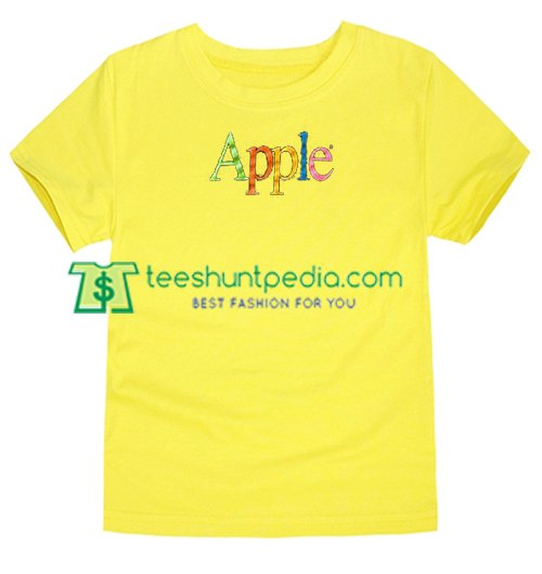 Found This 80s Apple T Shirt gift tees adult unisex custom clothing Size S-3XL