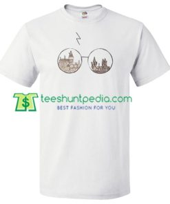Harry Potter Glasses T Shirt gift tees adult unisex custom clothing Size S-3XL