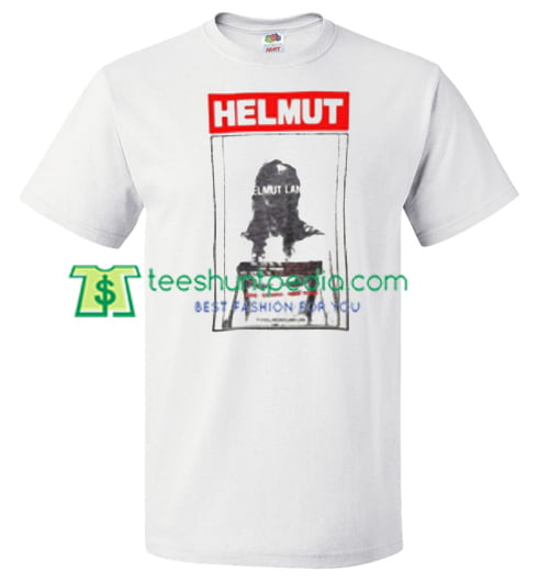 Helmut Lang T Shirt gift tees adult unisex custom clothing Size S-3XL