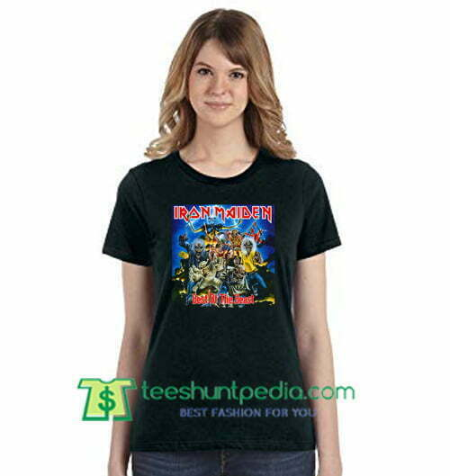 6acaf258926 Iron Maiden Best of The Beast Vintage T Shirts gift tees adult unisex custom  clothing Size ...