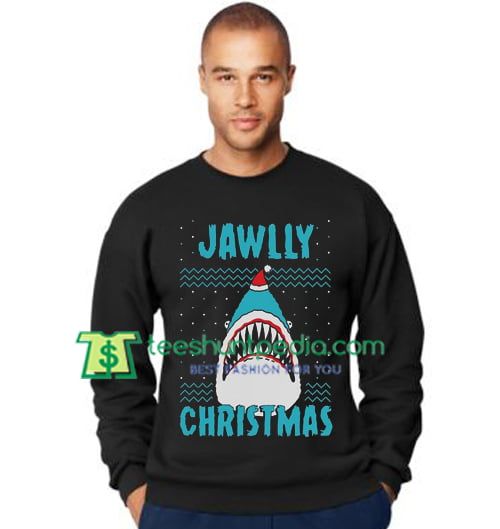 2e88fcc11b614 Jawlly Christmas Ugly Xmas Sweater Party Shark Youth Kids Sweatshirt Maker  Cheap