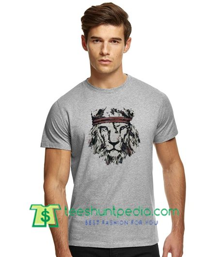 Lion Head T Shirt gift tees adult unisex custom clothing Size S-3XL
