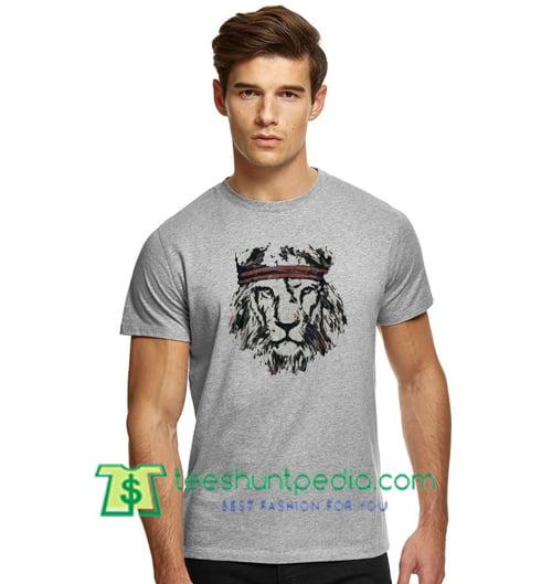 Lion Head T Shirt gift tees adult unisex custom clothing Size S-3XL