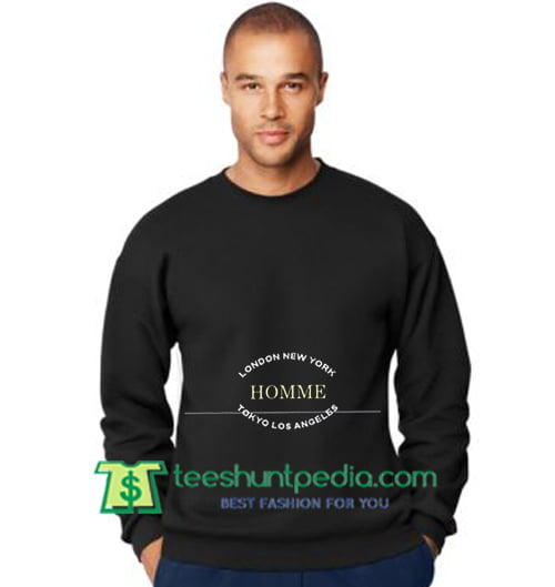 Los Tokyo Sweatshirt London York Homme Cheap New Maker Angeles E29DYWHI