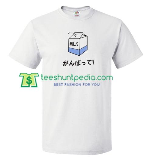 Milk Japan T Shirt gift tees adult unisex custom clothing Size S-3XL