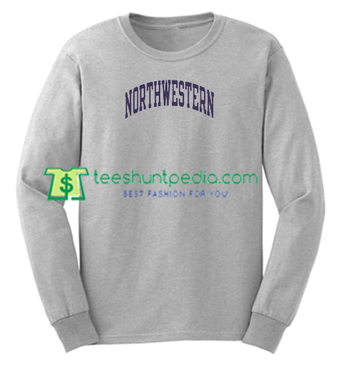 Northwestern University Sweatshirt Maker Cheap