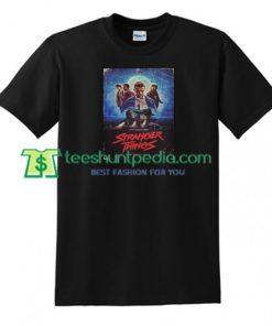 Stranger Things Poster T Shirt gift tees adult unisex custom clothing Size S-3XL