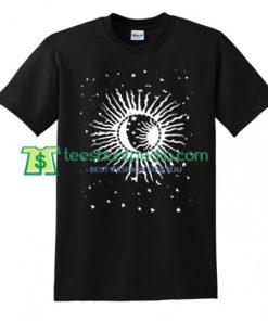 Sun Moon Star T Shirt gift tees adult unisex custom clothing Size S-3XL