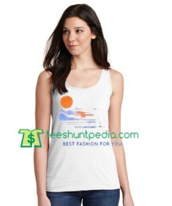 Sun set Tanktop gift shirt unisex custom clothing Size S-3XL