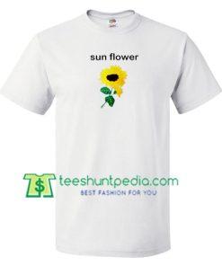 Sunflower T Shirt gift tees adult unisex custom clothing Size S-3XL