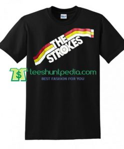 The Strokes T Shirt gift tees adult unisex custom clothing Size S-3XL