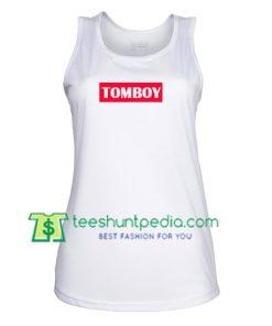 Tomboy TankTop gift shirt unisex custom clothing Size S-3XL