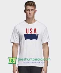 USA T Shirt gift tees adult unisex custom clothing Size S-3XL