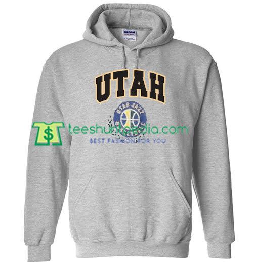 d9692e3af37 Utah Jazz Basketball Hoodie Back Maker Cheap from teeshuntpedia.com