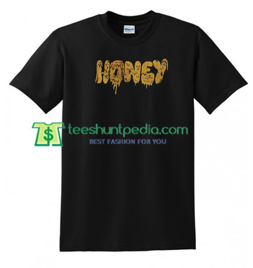 Vintage Honey T Shirt gift tees adult unisex custom clothing Size S-3XL