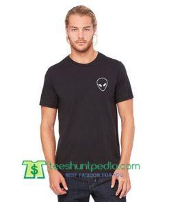 Wholesale Alien T Shirt gift tees adult unisex custom clothing Size S-3XL