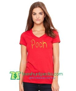 Winnie The Pooh T Shirt gift tees adult unisex custom clothing Size S-3XL