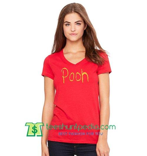 Winnie The Pooh T Shirt gift tees adult unisex custom clothing Size S-3XL