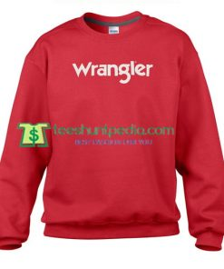 Wrangler Logo Sweatshirt Maker Cheap