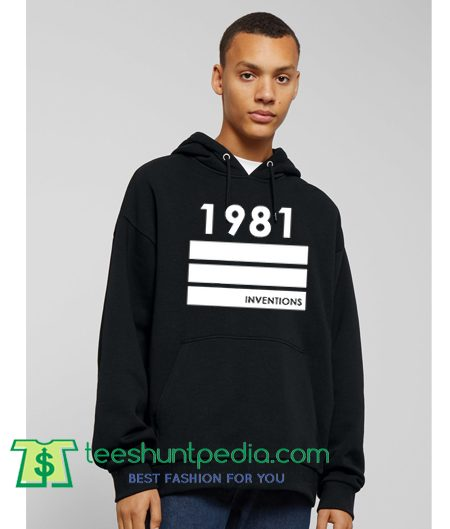 1981 Inventions Hoodie Maker Cheap
