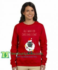All I Want For Christmas Is Ewe Sweatshirt Maker Cheap