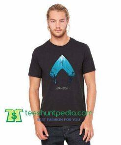 c954e75b7c6d Aquaman T Shirt Deep Blue Sea T Shirt gift tees adult unisex custom clothing  Size S