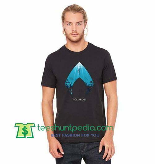 Aquaman T Shirt Deep Blue Sea T Shirt gift tees adult unisex custom clothing Size S-3XL