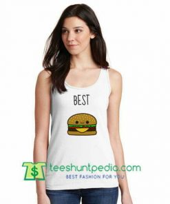 Best Hamburger Tank top gift shirt unisex custom clothing Size S-3XL