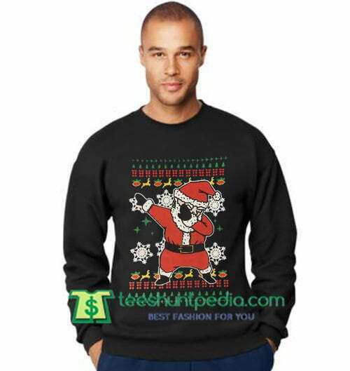 Trump Christmas Sweater.Dabbing Santa Christmas Sweatshirt Trump Christmas Sweatshirt Maker Cheap