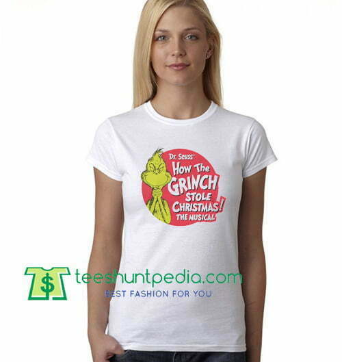Dr Seuss T Shirt How The Grinch Stole Christmas T Shirt Ugly