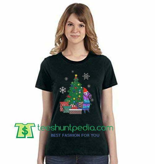 Llama Christmas Shirt.Fortnite Loot Llama Christmas Shirt Gift Tees Adult Unisex Custom Clothing Size S 3xl