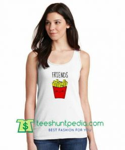 Friends Potatos Tank top gift shirt unisex custom clothing Size S-3XL