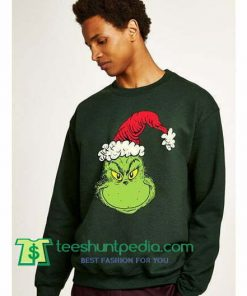 Funny Ugly Christmas Sweater Grinch Face Sweatshirt Maker Cheap