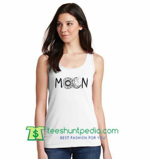Mocn Tank Top gift shirt unisex custom clothing Size S-3XL
