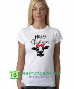 Mooey Christmas T Shirts gift tees adult unisex custom clothing Size S-3XL