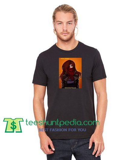 Mortal engines Shirt Hester Shaw T Shirt gift tees adult unisex custom clothing Size S-3XL