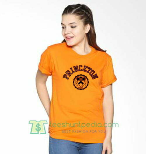 Princeton University T Shirt gift tees adult unisex custom clothing Size S-3XL