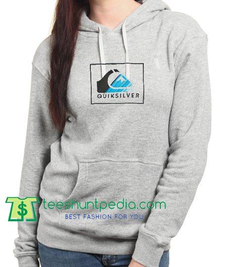 Quicksilver Logo Hoodie Maker Cheap