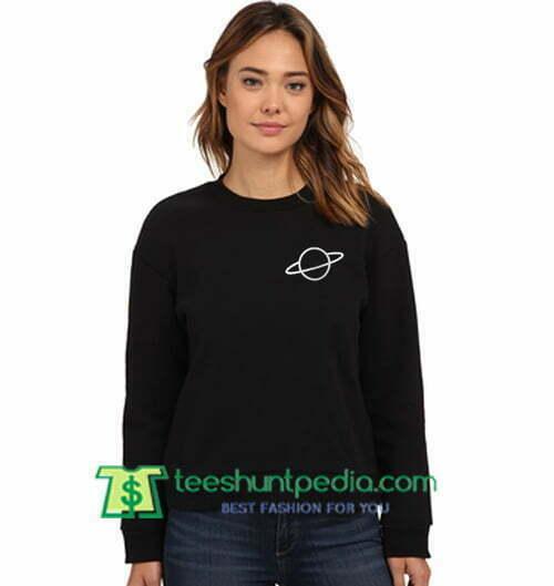Saturn Planet Sweatshirt Maker Cheap